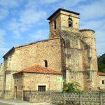 Iglesia de Santa María la Mayor en Treceño